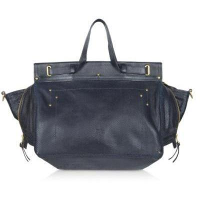 Jerome Dreyfuss Carlos - Handtasche aus geprägtem Leder