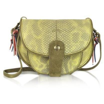 Jerome Dreyfuss Momo - Kleine Satteltasche aus Leder mit abnehmbarer Brieftasche