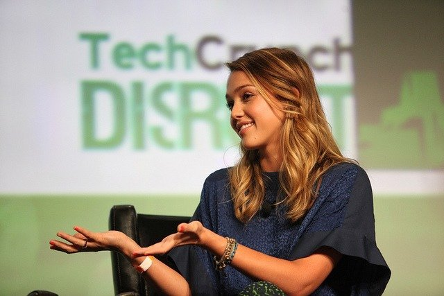 Jessica Alba | by TechCrunch | Some Rights Reserved