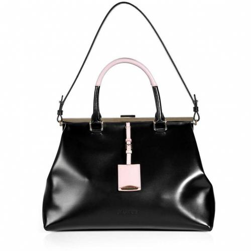 Jil Sander Black Doctor Bag