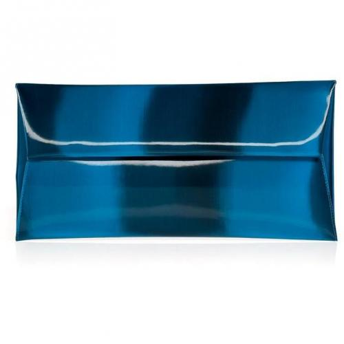 Jil Sander Sea Iridescent Envelope Clutch