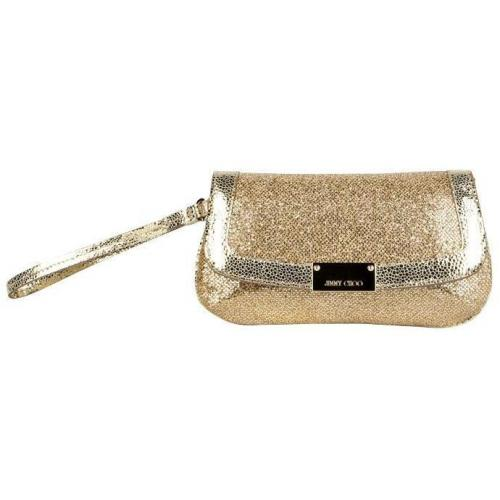 Jimmy Choo Clutch Zeta Gelb