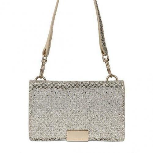 Jimmy Choo - Glityer Fabric I-Phone Hülle Brieftasche