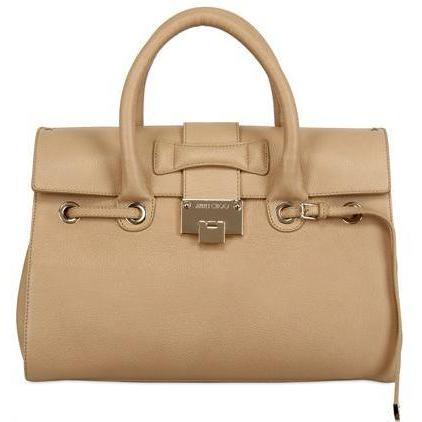 Jimmy Choo - Rosalie Grainy Leder Handtasche