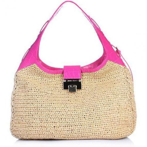 Jimmy Choo Shoulder Bag Bast Pink