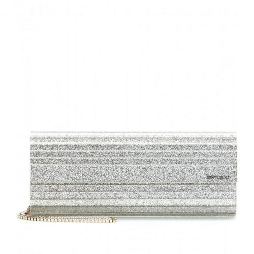 Jimmy Choo Sweety Glitter-Clutch