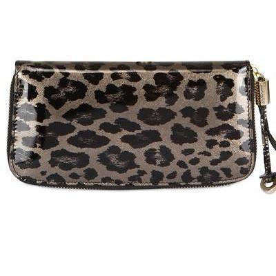 Jimmy Choo - Zulu Und Friends Leopard Druck Brieftasche