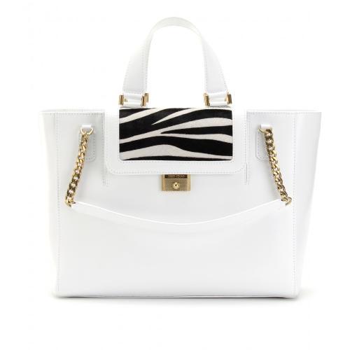 Jimmy Choo Camille Handtasche Weiß