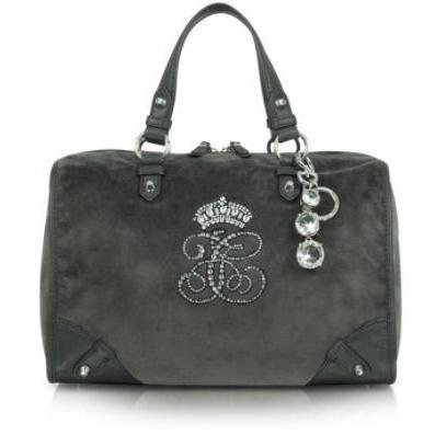 Juicy Couture All Hail Steffy - Umhängetasche aus Samt