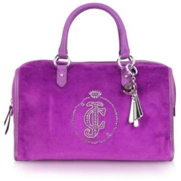 Juicy Couture JC Monogram - Bauletto aus Samt
