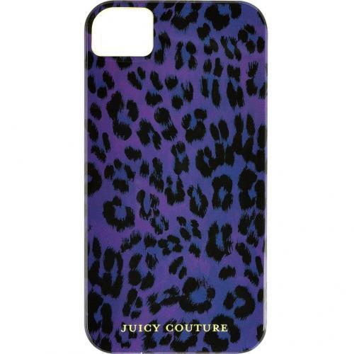 Juicy Couture Purple Leopard iPhone Case