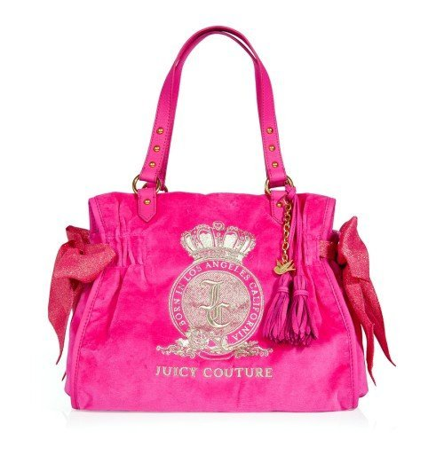 Juicy Couture Tasche Pink Dragonfruit Ms. Daydreamer - A Pretty Day Tasche
