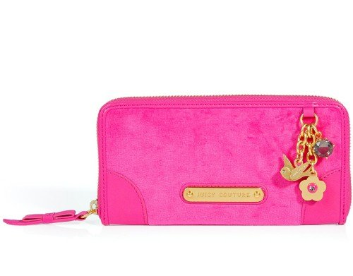 Juicy Couture Portemonnaie Go Steady Pink
