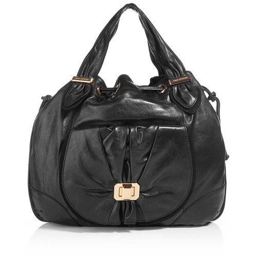 Juicy Couture Schwarze New Freestyle Leder Tote Bag