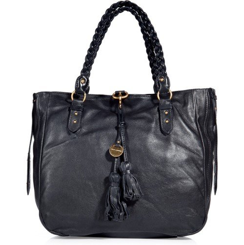 Juicy Couture Braided Handle Tasche Grau