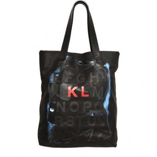 Karl Lagerfeld Paris - Alphabet Druck Tasche