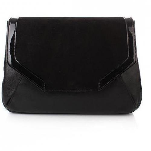 Kaviar Gauche 24h Diamond Bag Suede Black/Gold