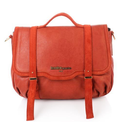 Kaviar Gauche Tasche Satchel Bag Red Mix/Gold