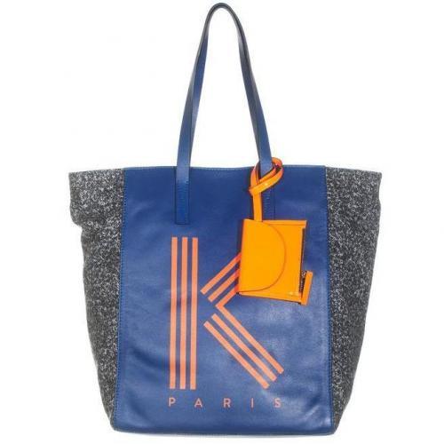Kenzo Logo Electric Blue