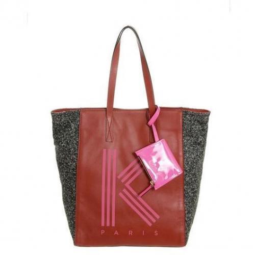 KENZO Shopper red