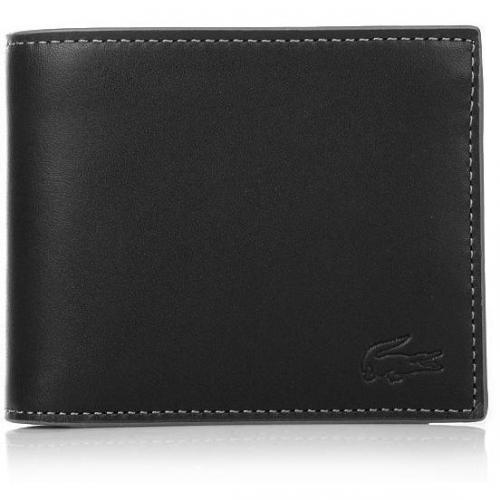 Lacoste Large Billfold+ Coin Black