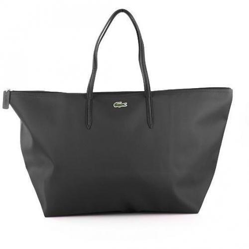 Lacoste Large Shopping Bag Anthracite