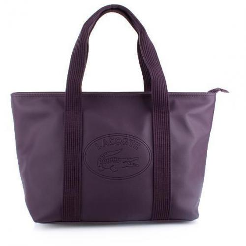 Lacoste Large Shopping Classic Plum Perfect