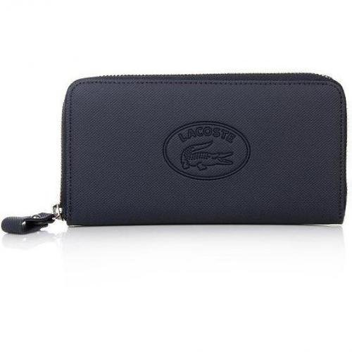 Lacoste Large Zip Wallet Black Iris