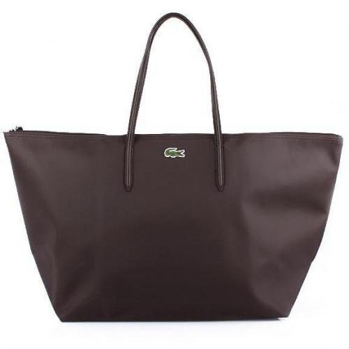 Lacoste X-Large Shopping Bag Dark Brown