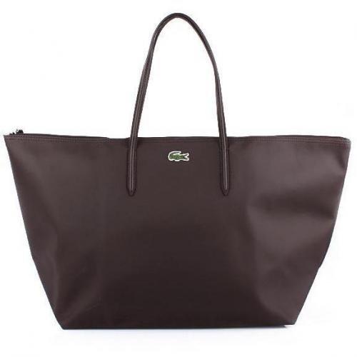 Lacoste X-Large Shopping Bag Dark Brown