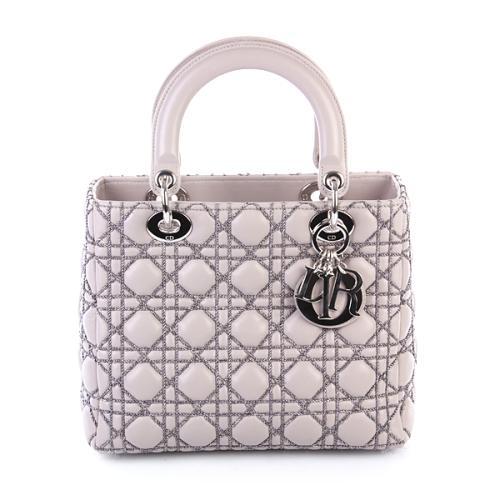 Lady Dior Silver von Christian Dior