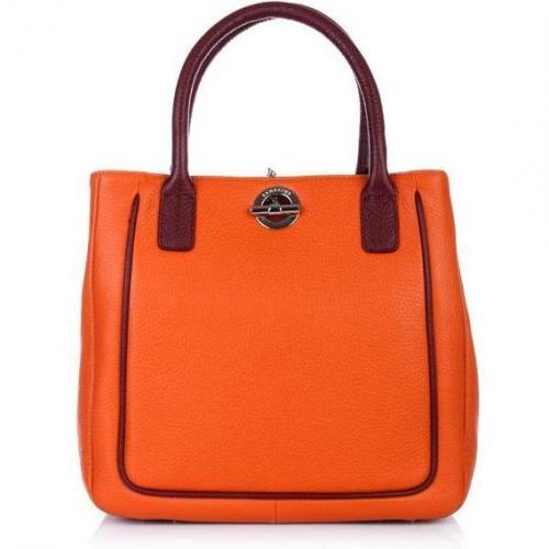 Lamarthe Bi-Paris Little Tote Bag Arancio Bordea