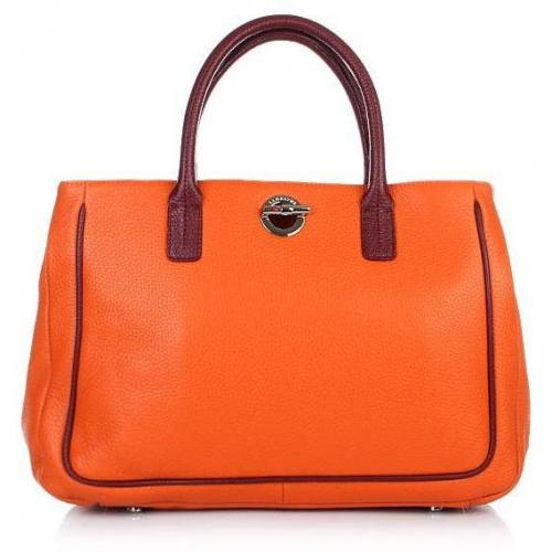 Lamarthe Bi-Paris Tote Bag Arancio Bordea