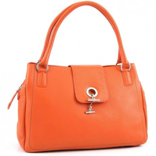 Lamarthe Paris Shopper Leder orange
