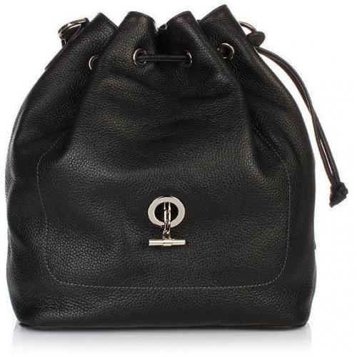 Lamarthe Paris Small Bucket Bag Nero