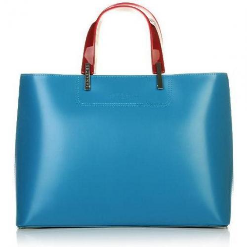 Lamarthe Portofino East West Shopping Bag Turchese