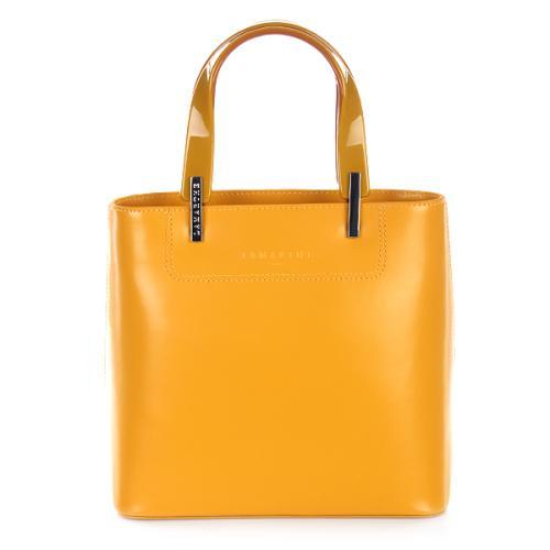 Lamarthe Tasche Portofino Gelb Small