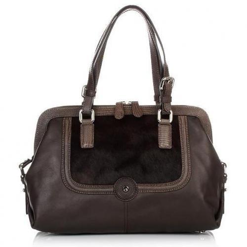 Lamarthe Yearling Zipped Doctor Bag Testa Moro