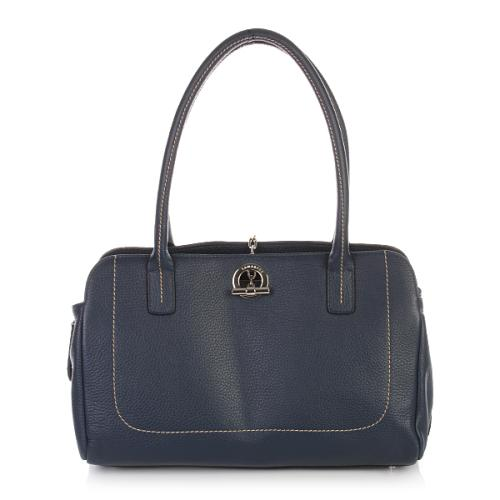 Lamarthe Sac Paris Leather Blau