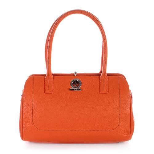 Lamarthe Sac Paris Leather Mandarino