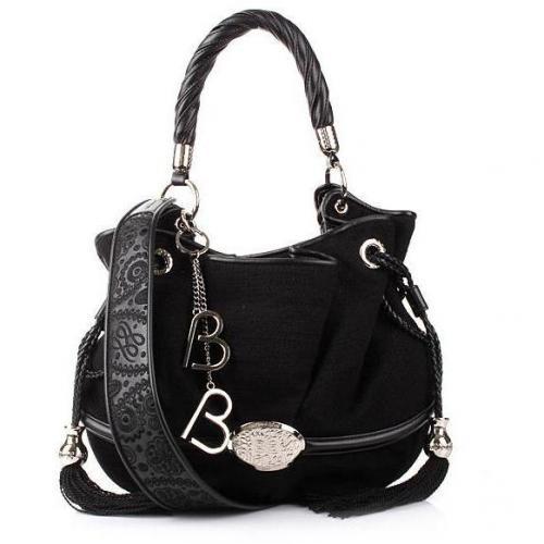 Lancel Brigitte Bardot Bucket Bag Black