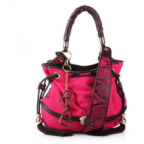 Lancel Brigitte Bardot Bucket Bag Pink Ruby