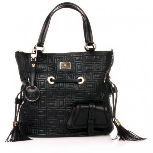 Lancel Flirt Bucket Bag Black
