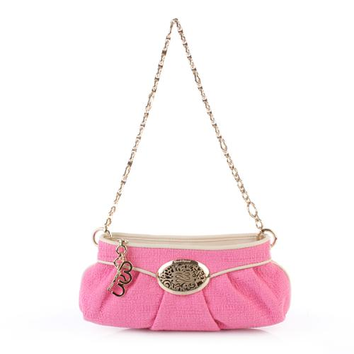 Lancel Brigitte Bardot Petite Tweed Rose
