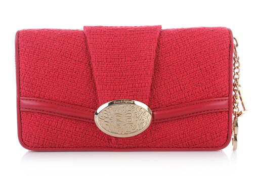 Lancel Brigitte Bardot Wallet Rot