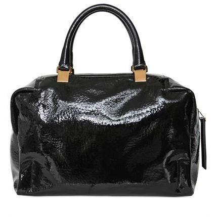 Lanvin - Polochon Patent Leder Handtasche