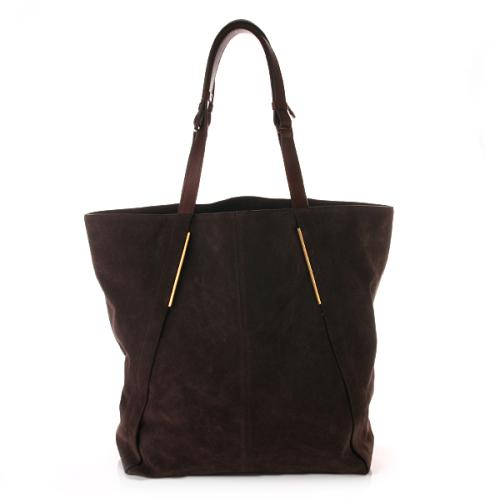 Lanvin Miss Sartorial Shopping Bag Dunkelbraun