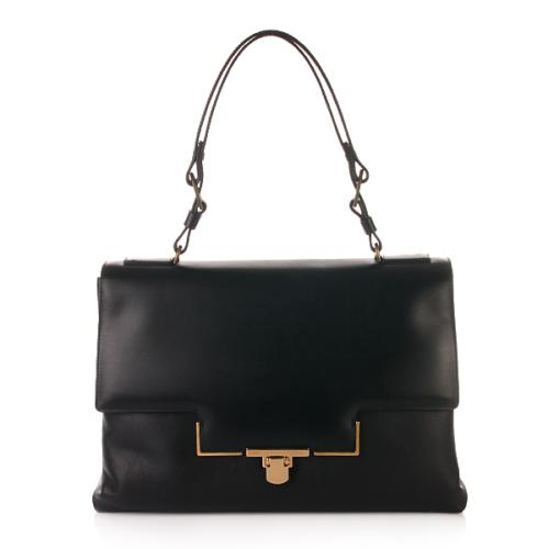 Lanvin Miss Sartorial Shoulder Bag Black