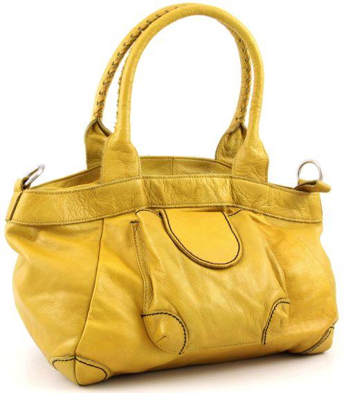 Liebeskind Shopper 2D Leather Flora Gelb
