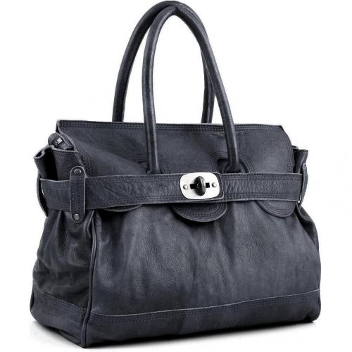 Liebeskind D Leather Gloria Henkeltasche Leder concrete